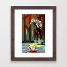 The Showdown Framed Art Print