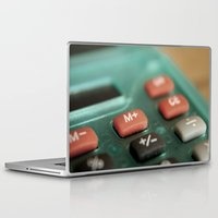 math Laptop & iPad Skins featuring Math by Big Tortoise Art (Art by JasonKoelliker)