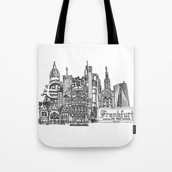 Busy City – Frankfurt am Main Tote Bag