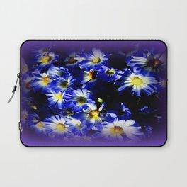Blue Daises  Laptop Sleeve