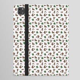 Beary Christmas Is a Fun Playful Kid Friendly Bear Family Design iPad Folio Case