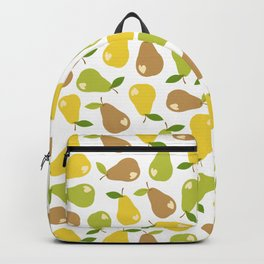 Bitten pears Backpack