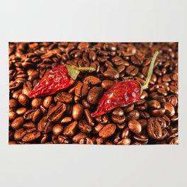 Hot Chili Coffee Rug