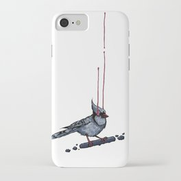 Cyanocitta Cristata iPhone Case
