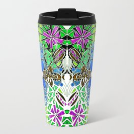Symmetrical Mouse (-106) Travel Mug