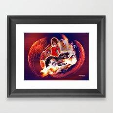 Moto7 Framed Art Print