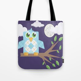 Nighttime Owl Tote Bag