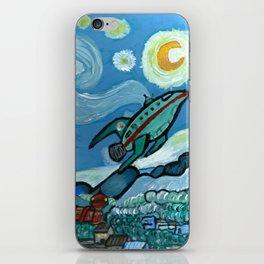 Starry Flight iPhone Skin