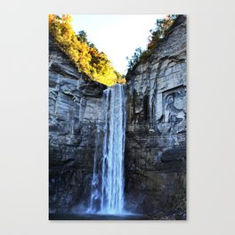 Taughannock falls ithaca Canvas Print
