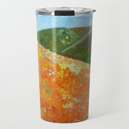 California Poppies, landscape art Travel Mug