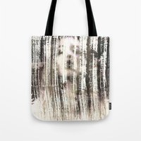 ghost Tote Bags featuring Ghost  by Peter Coleman