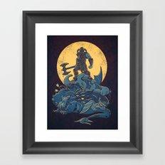 The Dragon Slayer Framed Art Print