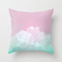 Dreamy Candy Sky Throw Pillow
