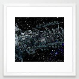 Kronos Colony Ark. view 02 Framed Art Print
