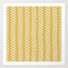 Sunny Triangles Art Print