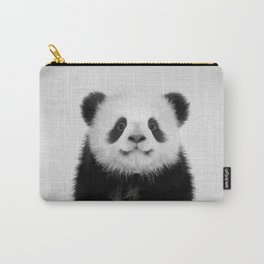 Panda Bear - Black & White Carry-All Pouch