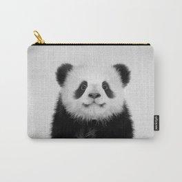 Panda Bear - Black & White Carry-All Pouch