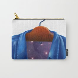 Universe in a Jacket jeans that hung on the hanger Carry-All Pouch