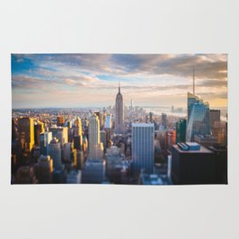 New York City at Sunset Rug