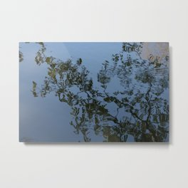 Reflection - Frederiksberg Haven, Denmark Metal Print