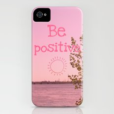 Be positive! iPhone (4, 4s) Slim Case