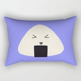 Origini cute rice face Rectangular Pillow
