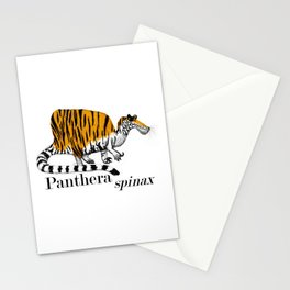 Panthera spinax Stationery Cards
