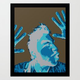 Manprint Art Print