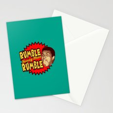 Rumble Young Man Rumble  |  Ali Stationery Cards