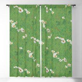 Matilija Poppies Blackout Curtain