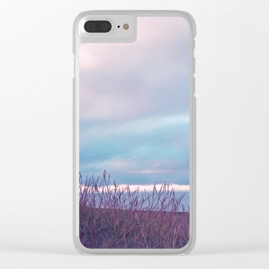 Pastel vibes 70 Clear iPhone Case
