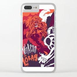 El Milagro VS Las Lobas Clear iPhone Case