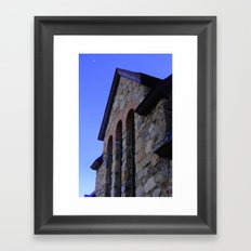 St. Malo Chapel Arches Framed Art Print