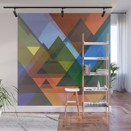 Abstract Composition 677 Wall Mural