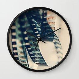 super 8 film Wall Clock