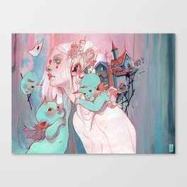 Scatterling Canvas Print