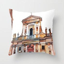 Chiesa di San Giovanni Battista dei Fiorentini, Rome Throw Pillow