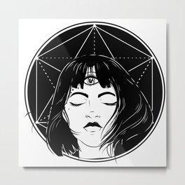 pastel goth Anime Metal Print