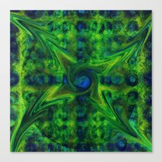 Cosmic Pinwheel Canvas Print
