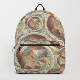 Complex geometric pattern Backpack