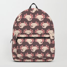 Cute axolotls Backpack