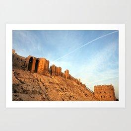 Aleppo Citadel Art Print