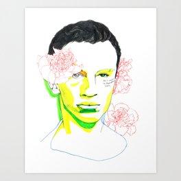 frank o'hara Art Print