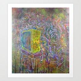 Boom tube Art Print