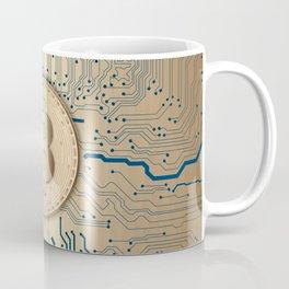 Bitcoin money gold Coffee Mug
