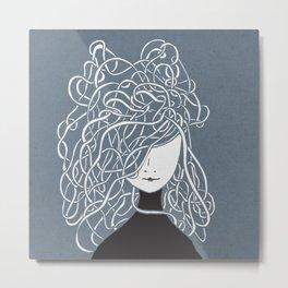 Iconia Girls - Olivia March Metal Print