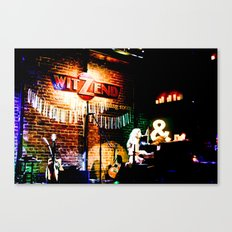 Concert at Witzend, Venice Canvas Print