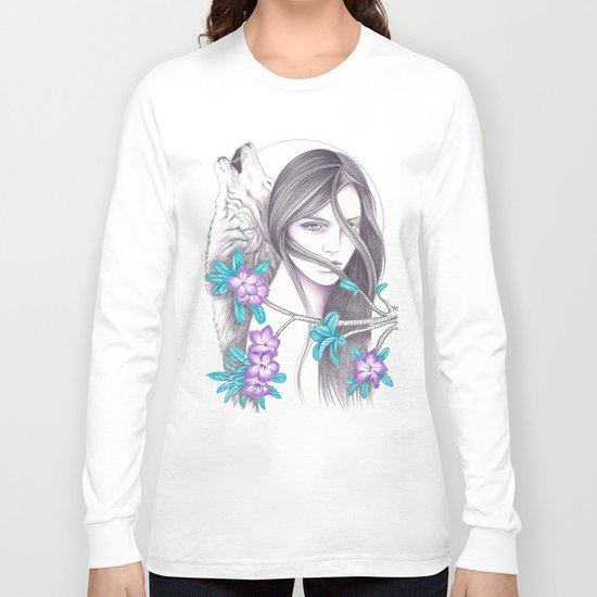 Desert Flower Long Sleeve T-shirt