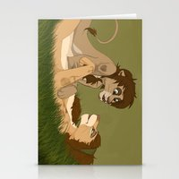 larry stylinson Stationery Cards featuring Lion King!Larry by Pass The Pencil