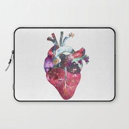 Superstar Heart (on white) Laptop Sleeve